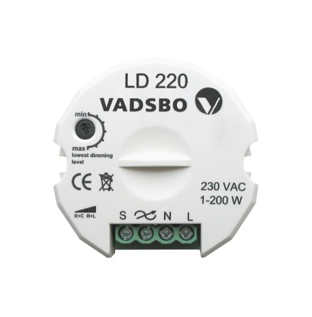 Tryckdimmer LED LD 220, Vadsbo
