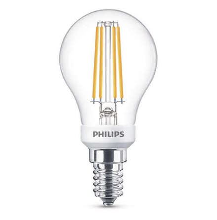 Philips LED Klot E14 5W (40W) 470lm 2700K Dimbar